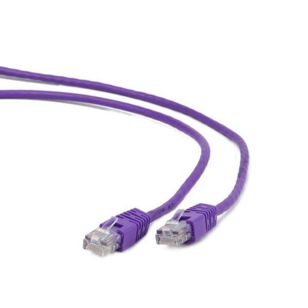 GEMBIRD PP12-0.25M/V  Mrezni kabl 0.25m violet