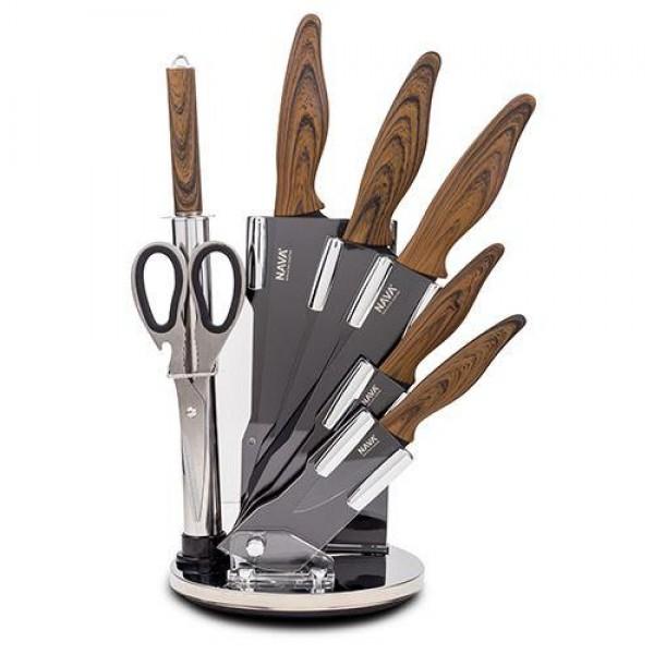 NAVA Set noževa od nerđajućeg čelika 8u1