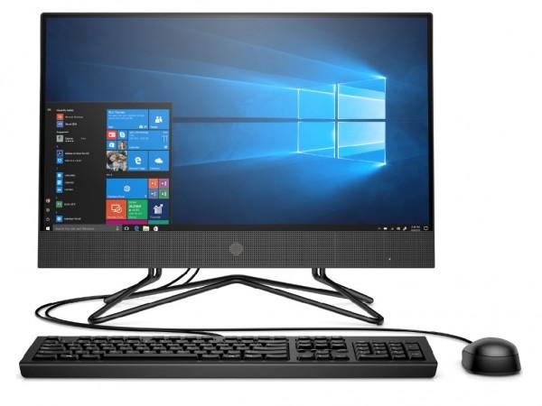 HP 200 G4 AiO 21.5'' FHD AG UWVA, i5-10210U, 8GB, 256GB, DVD, WiFi, Win 10, Pro, Black, 1Y (2Z362EA)