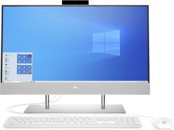 HP 24-dp0029ny AiO 23.8'' FHD IPS, i3-1005G1, 8GB, 256GB, UHD, Win 10 Home, Silver (236M5EA)