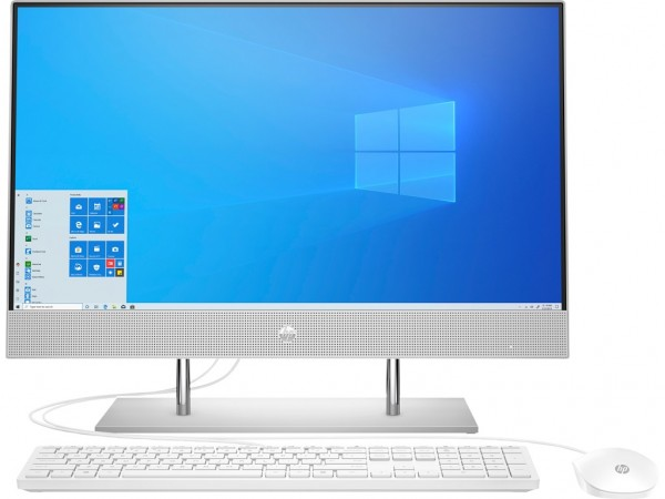 HP 24-dp0001ny AiO 23.8'' FHD IPS, Ryzen 3 4300U, 4GB, 256GB, UHD, Win 10 Home, Silver (1A9H5EA)