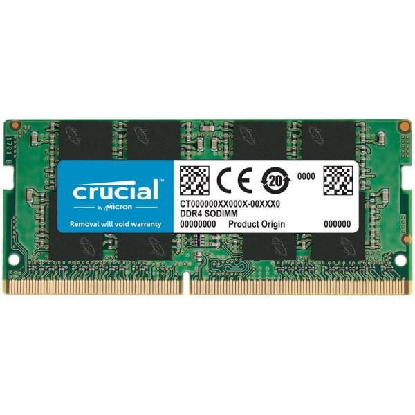 Crucial DRAM 8GB DDR4-2666 SODIMM
