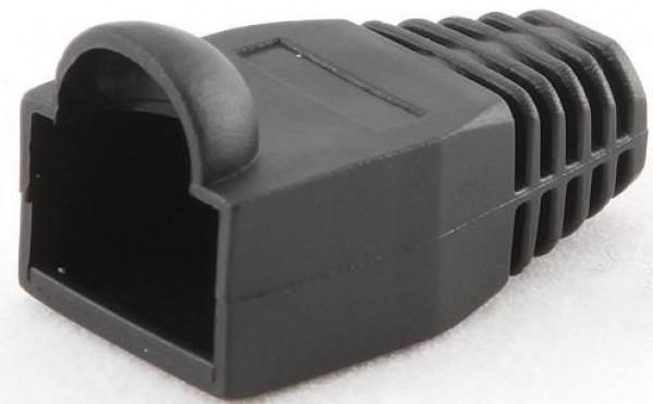 GEMBIRD BT5BK/5  Kapice za LAN konektore black (pakovanje 100 kom)