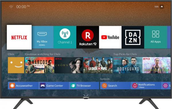Hisense TV Led H43B7100 Smart 4K UHD