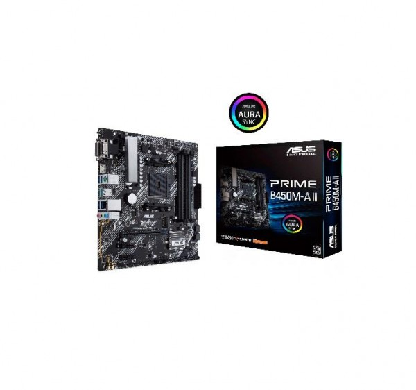 Asus AMD MB PRIME B450M-A II AM4