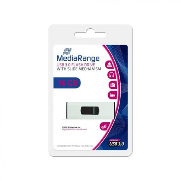 MEDIARANGE USB Flash drive 16GB 3.0 highspeed MR915