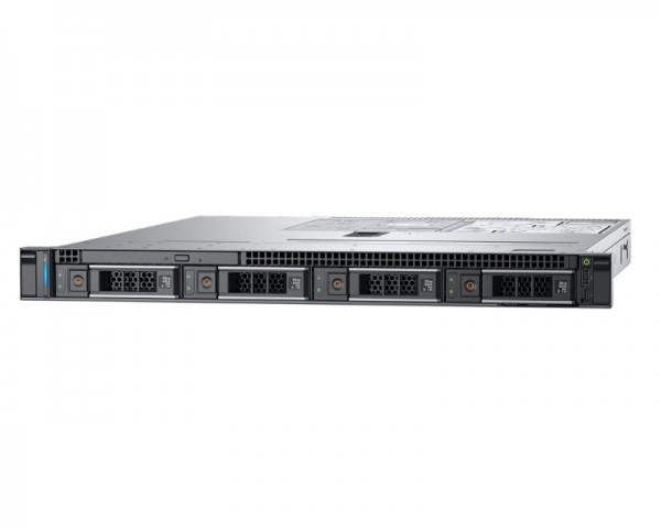 DELL PowerEdge R340 Xeon E-2278G 8C 1x16GB H330 1x600GB SAS 350W (1+1) 3yr NBD + Sine za Rack + Broadcom 5719 QP 1GbE