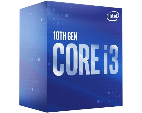 INTEL Core i3-10100F 4 cores 3.6GHz (4.3GHz) Box