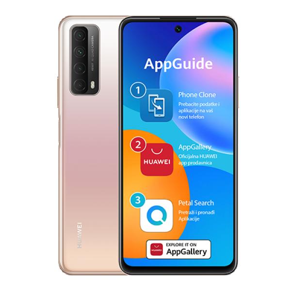 HUAWEI P Smart (2021), 6.67'', 4GB, 128GB, 48 Mpix + 8 Mpix + 2 Mpix + 2 Mpix  Zlatni