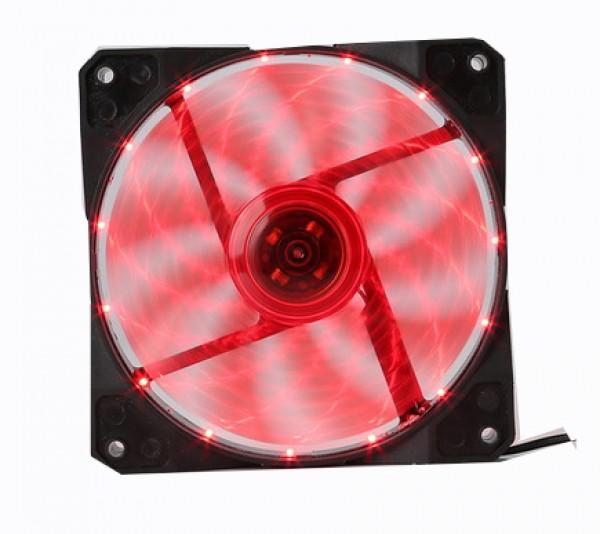 Marvo Hladnjak za kućišta 120x120 FN10 LED crveno pozadinsko osvetljenje