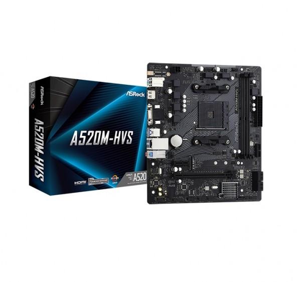 ASRock AMD MB A520M-HVS AM4