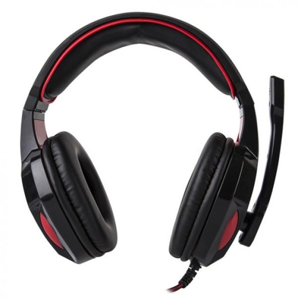 Marvo Slušalice USB HG8802 3.5MM+USB gejmerske sa mikrofonom za PS2/PS3/XBox crno/crvene