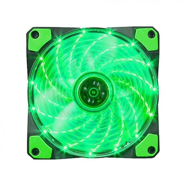 Marvo Hladnjak za kućišta 120x120 FN10 LED zeleno pozadinsko osvetljenje
