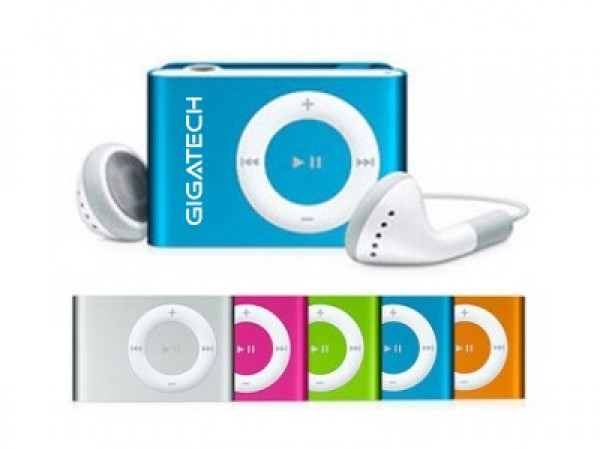 GIGATECH MP3 Player GMP-03 red