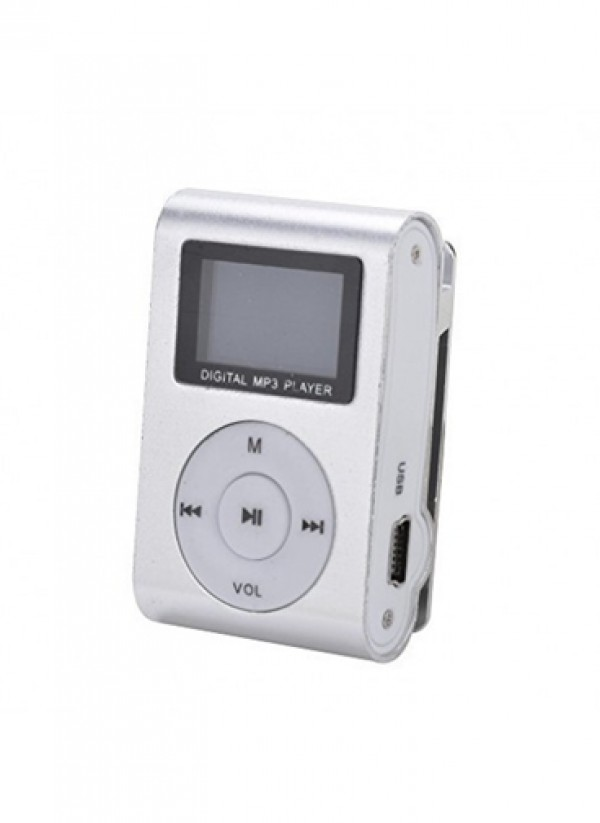 GIGATECH MP3 Player GMP-13 FM/LCD silver