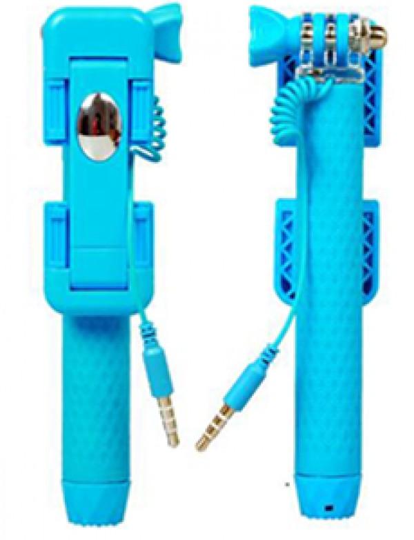GIGATECH Selfie štap SM300 sa blicem plavi