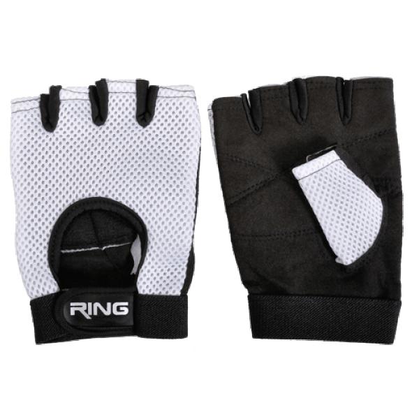RING Fitnes rukavice za teretanu RX FG310-XL (CrnaBela)