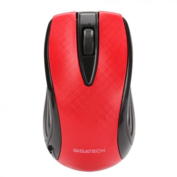GIGATECH Miš USB GM-535 3D bez osvetljenja crveni