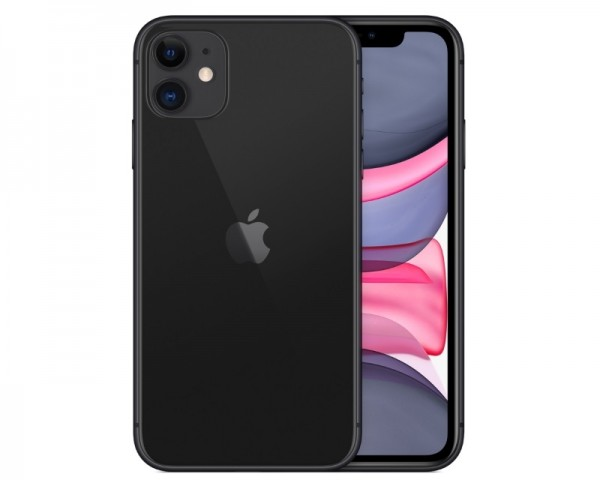 APPLE iPhone 11 64GB Black MHDA3FSA