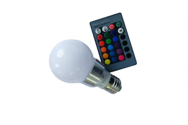 GREENTECH LED sijalica E27 3W LB-2170 RGB dimabilna