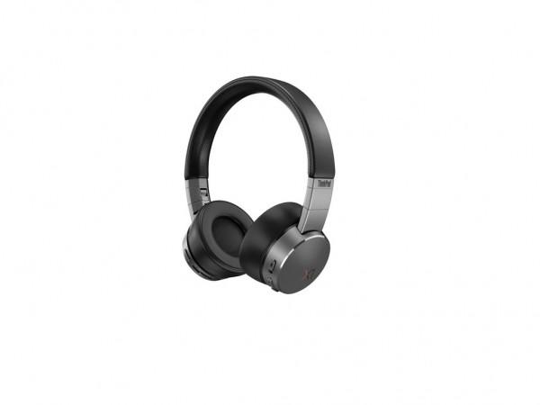 Lenovo slušalice ThinkPad X1Active Noise CancellationBluetooth 5.0; USB digital audio,crne