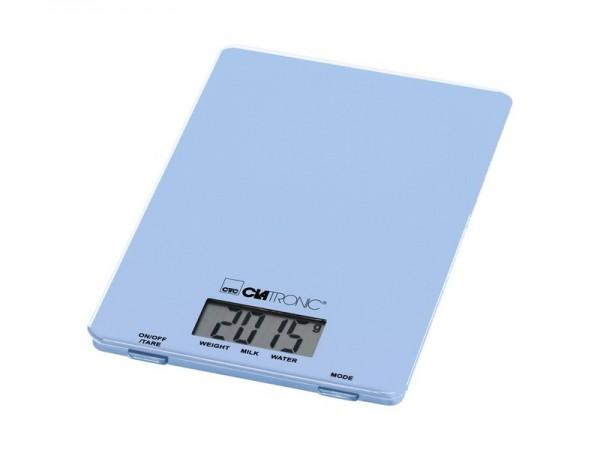 Kuhinjska vaga CLATRONIC - KW3626 PLAVA 5kg, LCD display