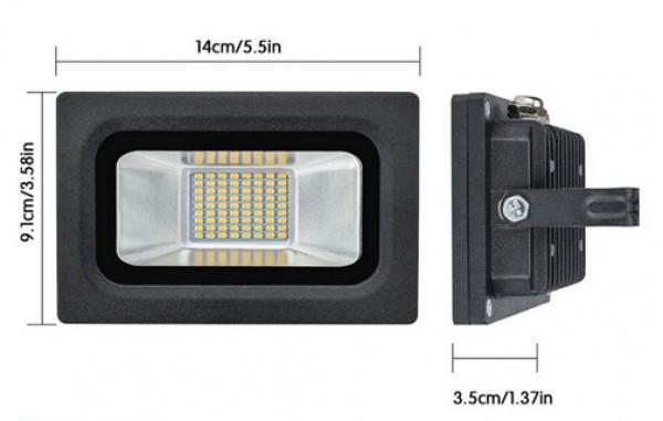 SPECTRA LED reflektor 15W LRSMDA3-15 6500K beli