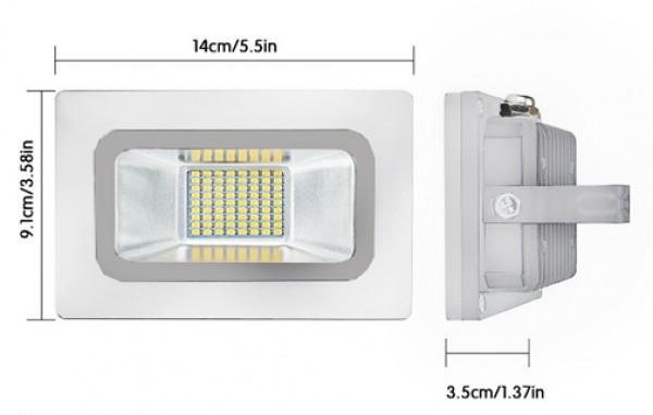 SPECTRA LED relfektor 30W LRSMDA3-30 6500K beli