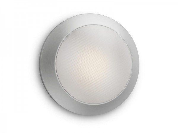 Halo LED spoljašnja plafonska svetiljka inox 1x3W 17291/47/16