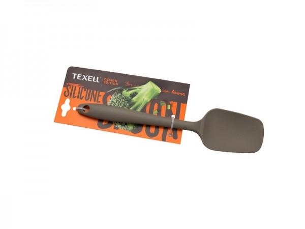 Silikonska kašika mala siva TEXELL TS-KM125S 21cm