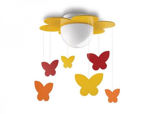 Meria dečja plafonska svetiljka žuta 1x15W 40096/34/16