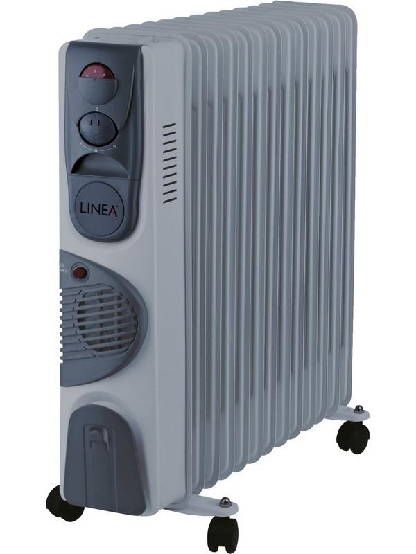 Uljni radijator LINEA - LRF13-0436 sa ventilatorom, 2500w+400w