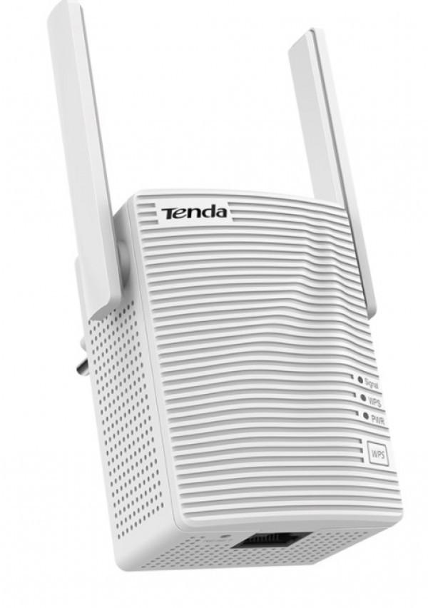 Tenda A15 WiFi ripiter/ruter dual band 2,4+5GHz 300/433Mbps Repeater Mode Client+AP white, 1x LAN