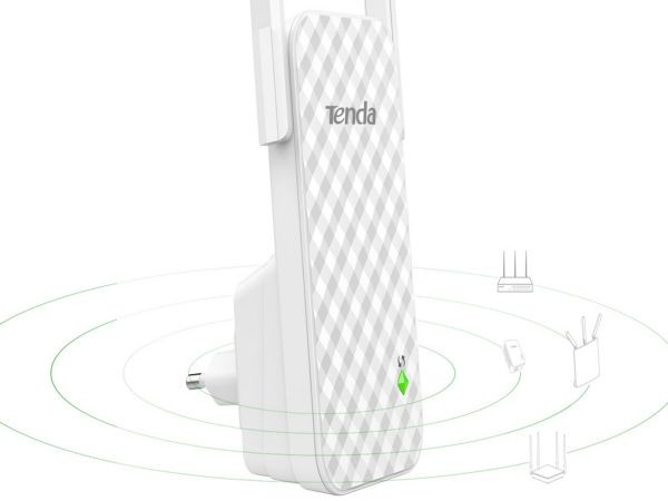Tenda A9 WiFi ripiter/router 300Mbps Repeater Mode Client+AP white (Alt WNP-RP300) (32ky)