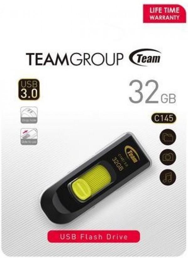 TeamGroup 32GB C145 USB 3.0 YELLOW TC145332GY01