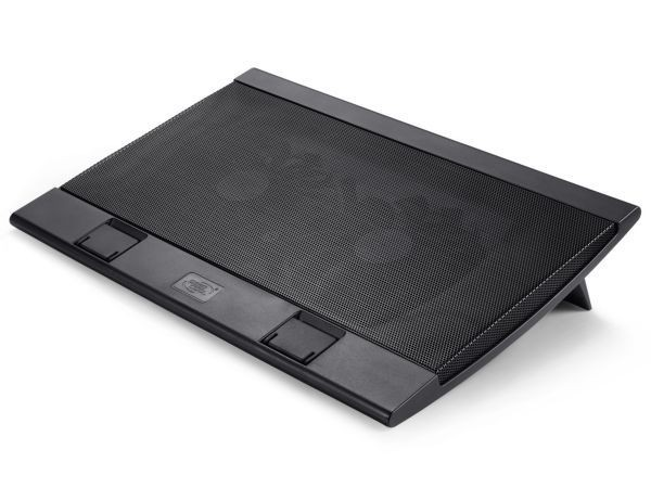 DeepCool WINDPALFS Hladnjak za laptop 15,6/17\'' 2xUSB 2x140mm.Fan 700~1200rpm 115CFM 21DB. (postolje)