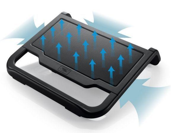 DeepCool N200 Hladnjak za laptop 15.6\'' 120mm.Fan 1000rpm 42CFM 22dB 340x310x59mm (postolje)