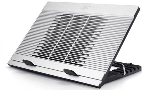 DeepCool N9 Aluminijumski Hladnjak za laptop 15.6\'' 180mm.Fan 1000rpm 20dB 380x279x34mm USB HUB