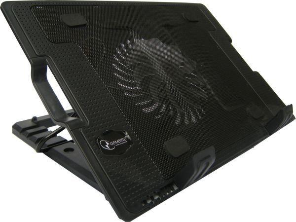 GEMBIRD N2000IV  hladnjak za laptop, 15-17\'' 180mm Fan-CONTROL, 2xUSB, 365x265mm, Ergo Stand(583)