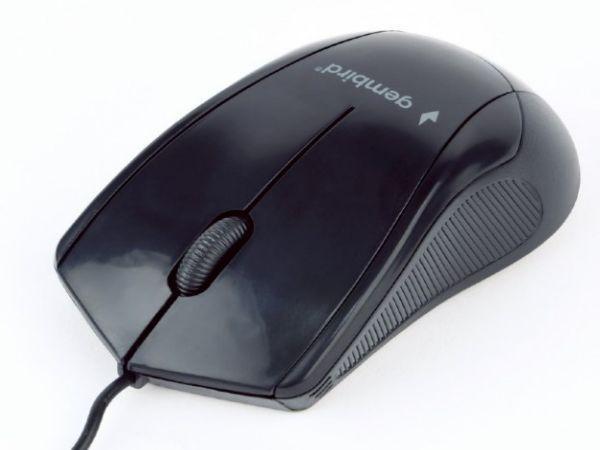 MUS-3B-02 Gembird Opticki mis 1000Dpi 3-button black USB