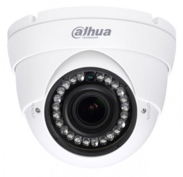 KAMERA Dahua * HAC-HDW1200RP-VF-27135 2Mpix 2.7-13.5MM Vario DOME 30m, HDCVI, smart ICR diode 3369