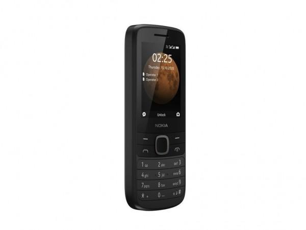 Nokia 225 4G DS Black Dual Sim