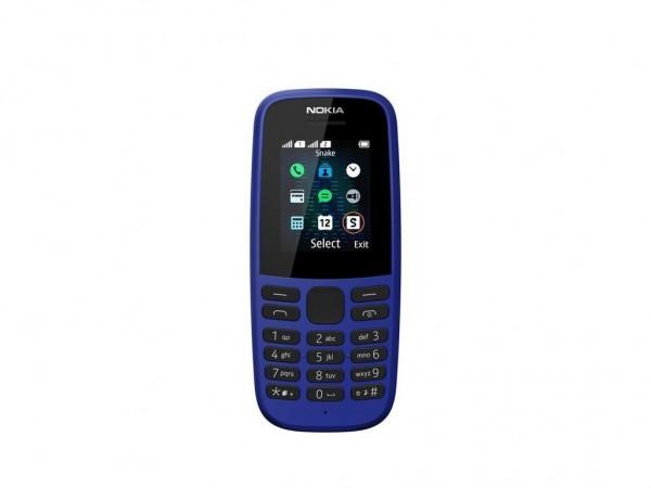 Nokia 105 DS Blue 2019 Dual Sim