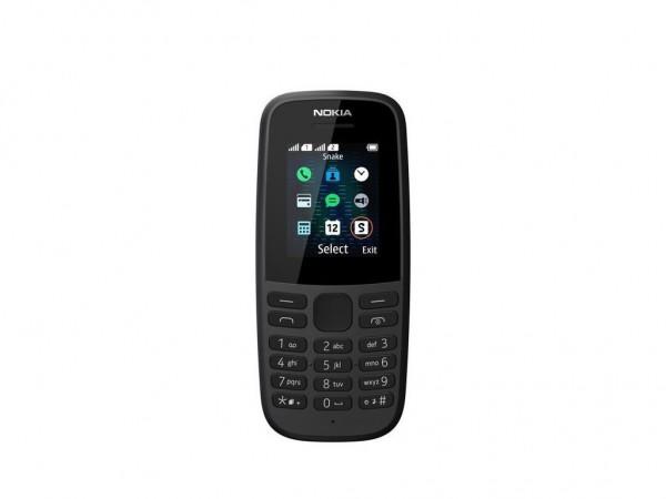 Nokia 105 DS Black 2019 Dual Sim