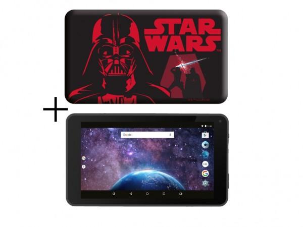 eSTAR Themed Tablet StarWarsBB8 7399 7'' ARM A7 QC 1.3GHz2GB16GB0.3MPWiFiAndroid 9SWars futrola