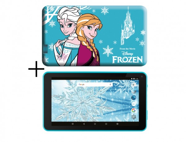 eSTAR Themed Tablet Frozen 7399 7'' ARM A7 QC 1.3GHz2GB16GB0.3MPWiFiAndroid 9Frozen Futrola