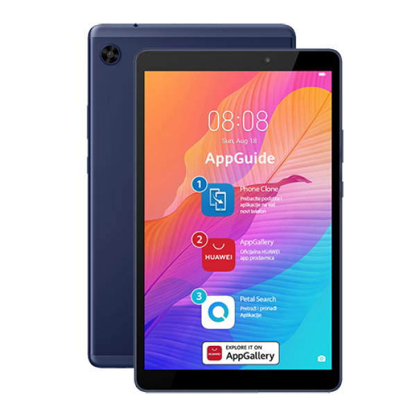 Tablet 8' Huawei Mate Pad T8 Blue 1280x800/OC2GHz/2GB/32GB/5-2Mpix