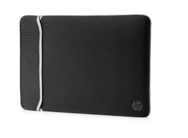 HP 39.62 cm (15.6'') Neoprene Reversible Sleeve (BlackSilver)(2UF62A