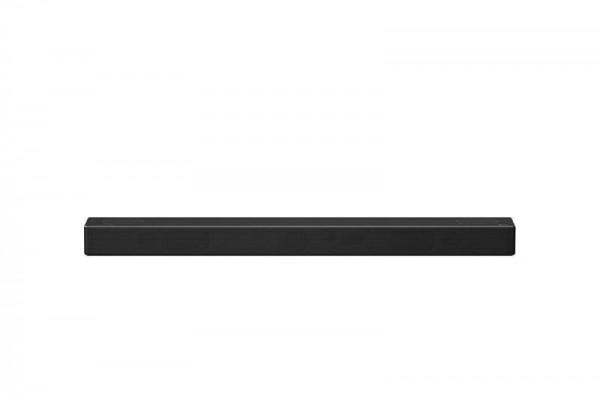 LG SN7Y Soundbar, 3.1.2, 380W, WiFi Subwoofer, Bluetooth, Dolby Atmos, Meridian Audio, Dark Gray
