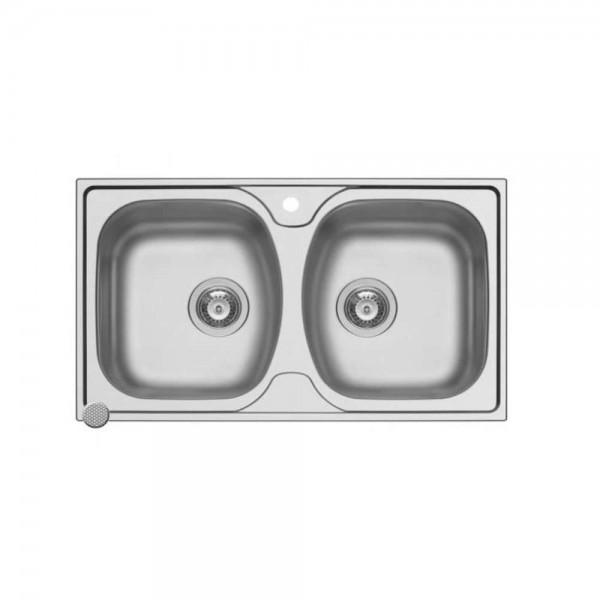 Zilan zln0216 sudopera dupla 50x80cm
